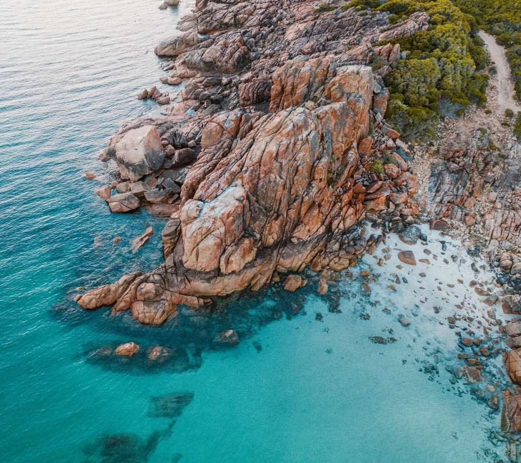 Castle Rock coastal hike aerial views
