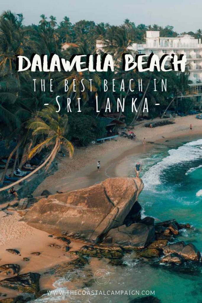 Dalawella Beach | The BEST Beach in Sri Lanka | Enjoy everything this amazing beach has to offer including a cool rope swing, turtles, a peaceful lagoon and more. A MUST add to your Sri Lanka itinerary | The Coastal Campaign