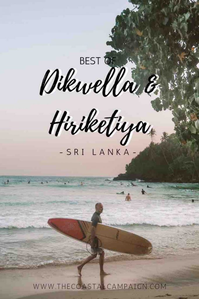 Hiriketiya Beach | 8 Awesome Things to Do | This amazing surf town on the south coast of Sri Lanka is the best place to visit for that chilled, surfer vibe. Whether you are here to soak up the sun, practice yoga or surf, there is something for everyone. Find out more about this trendy mushroom-shaped bay!