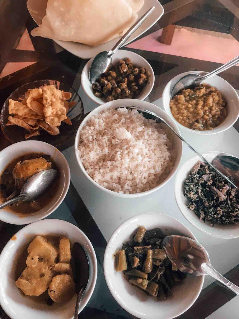 Budget Food in Sri Lanka