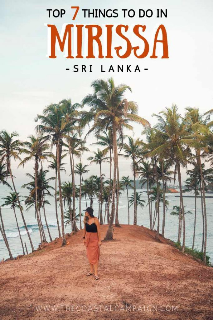 Top 7 Things to Do in MIRISSA, SRI LANKA | Discover all the best things to do in Mirissa. Beautiful beaches, awesome sunset spots and great places to eat make this the jewel of south coast Sri Lanka