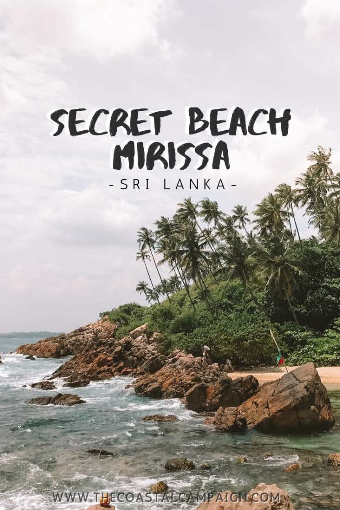 Secret Beach Mirissa | Find out why Secret Beach Mirissa is the best beach in Mirissa and one of the best in the whole of Sri Lanka