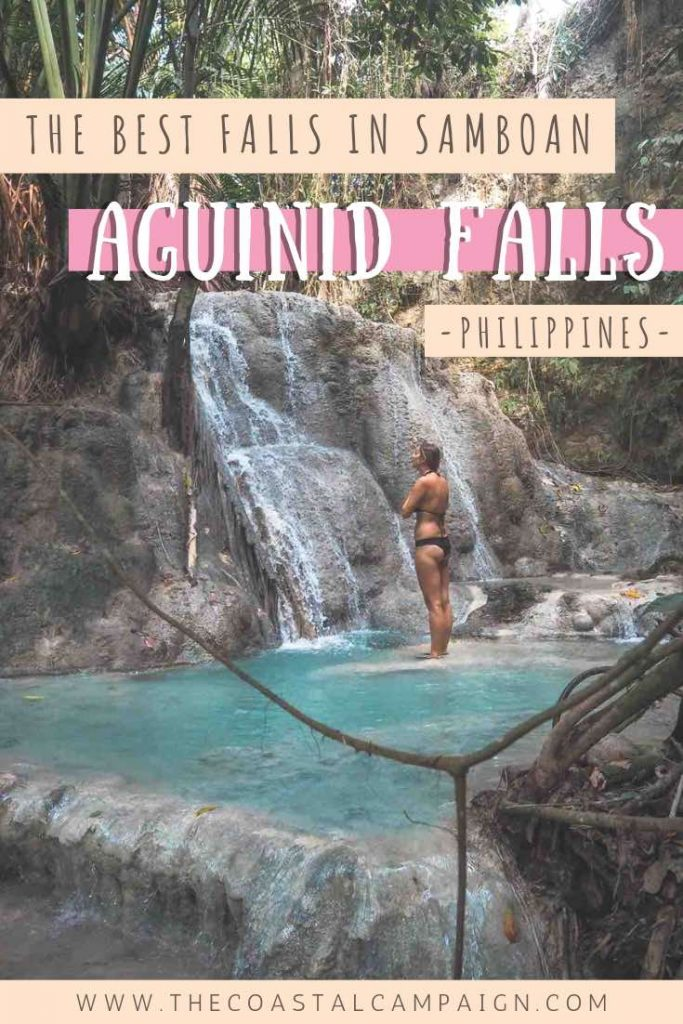 Aguinid Falls | Best Waterfall in Samboan, Cebu | Kawasan Falls isn't the only amazing Waterfall on Cebu Island. Find out why Aguinid Falls was one of our favourite waterfalls in the Philippines | The Coastal Campaign