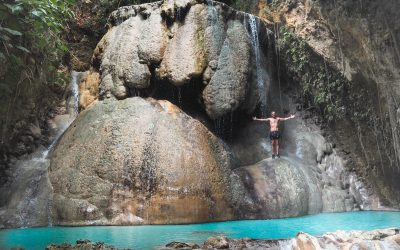 AGUINID FALLS | Best Waterfall in Samboan, Cebu