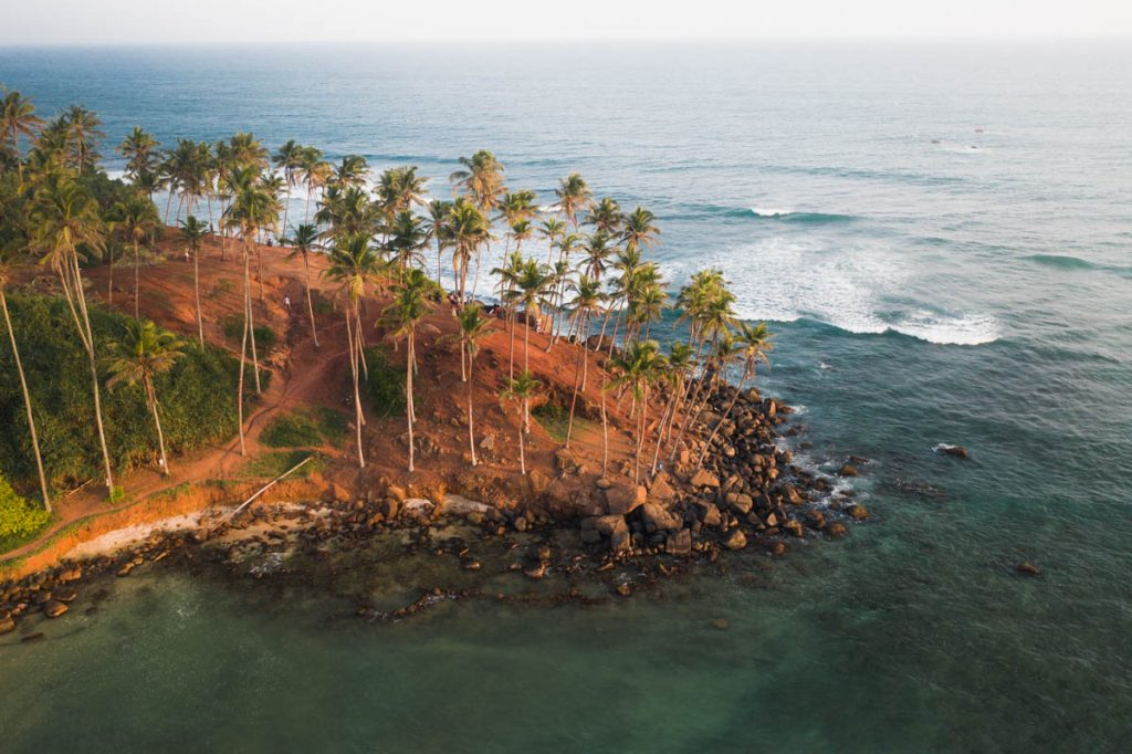 Coconut Tree Hill Aerial Photo