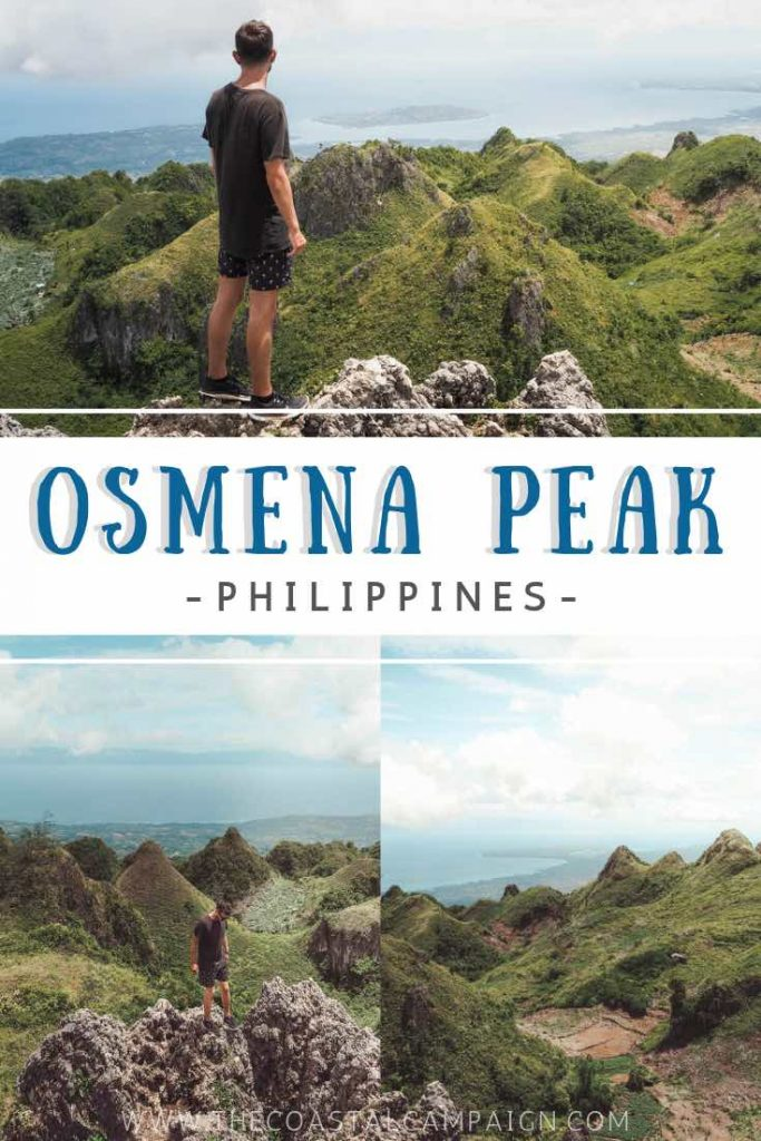 OSMENA PEAK | Epic Hike in Cebu, Philippines | The Osmeña Peak hike is a short but sweet climb. Enjoy a 360-degree view from the top of one of Cebu's highest mountains!