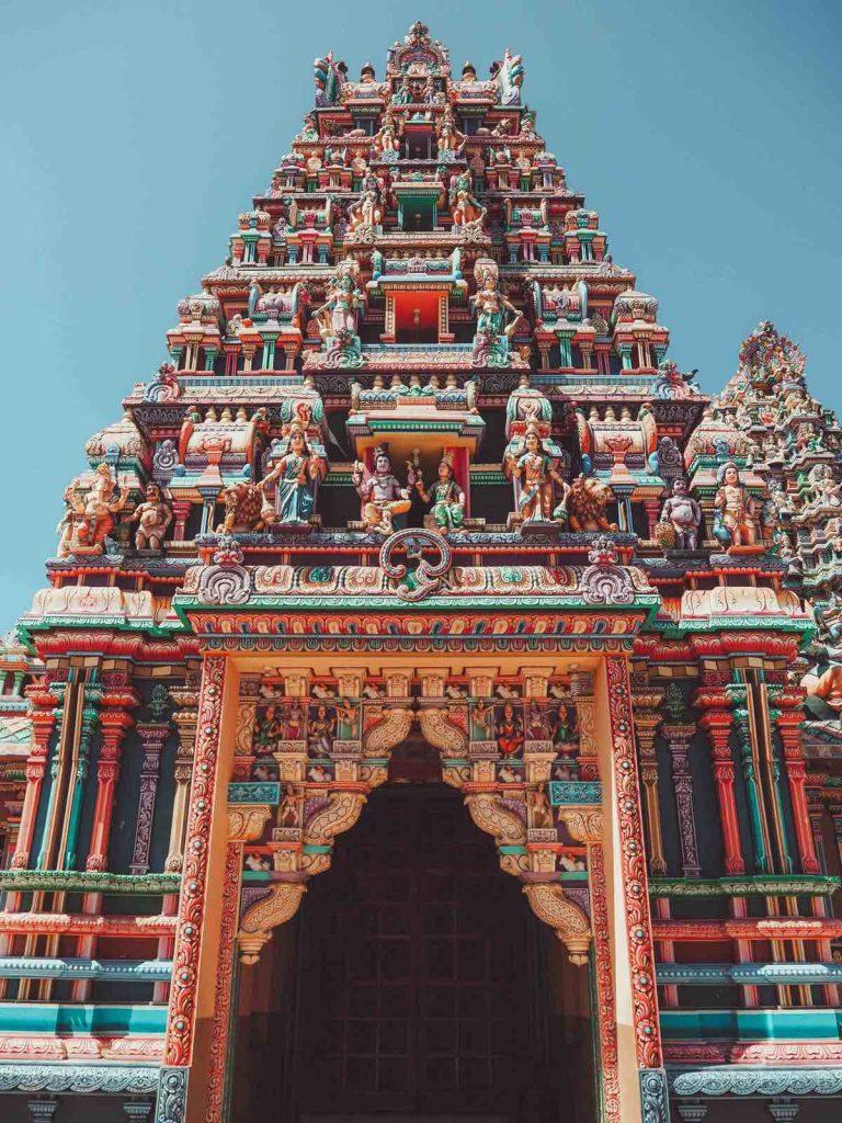 Pathirakali Amman Temple in Trincomalee, Sri Lanka