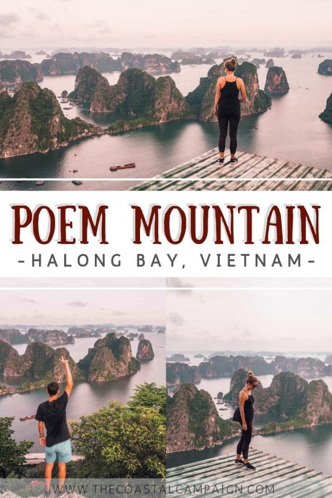 POEM MOUNTAIN HIKE | The top of Poem Mountain (Bai Tho Mountain) is the most incredible viewpoint in Vietnam and maybe even in Asia! Find out more about this hike offering incredible views of Ha Long Bay.