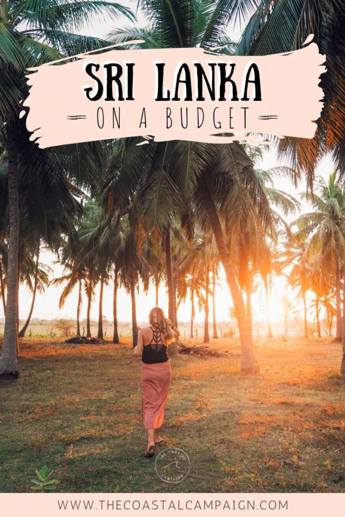 SRI LANKA ON A BUDGET | If you want to travel Sri Lanka without spending a fortune, then this is the guide for you. Find out how we spent one month here for less than $500! Include money saving tips and a complete breakdown of costs