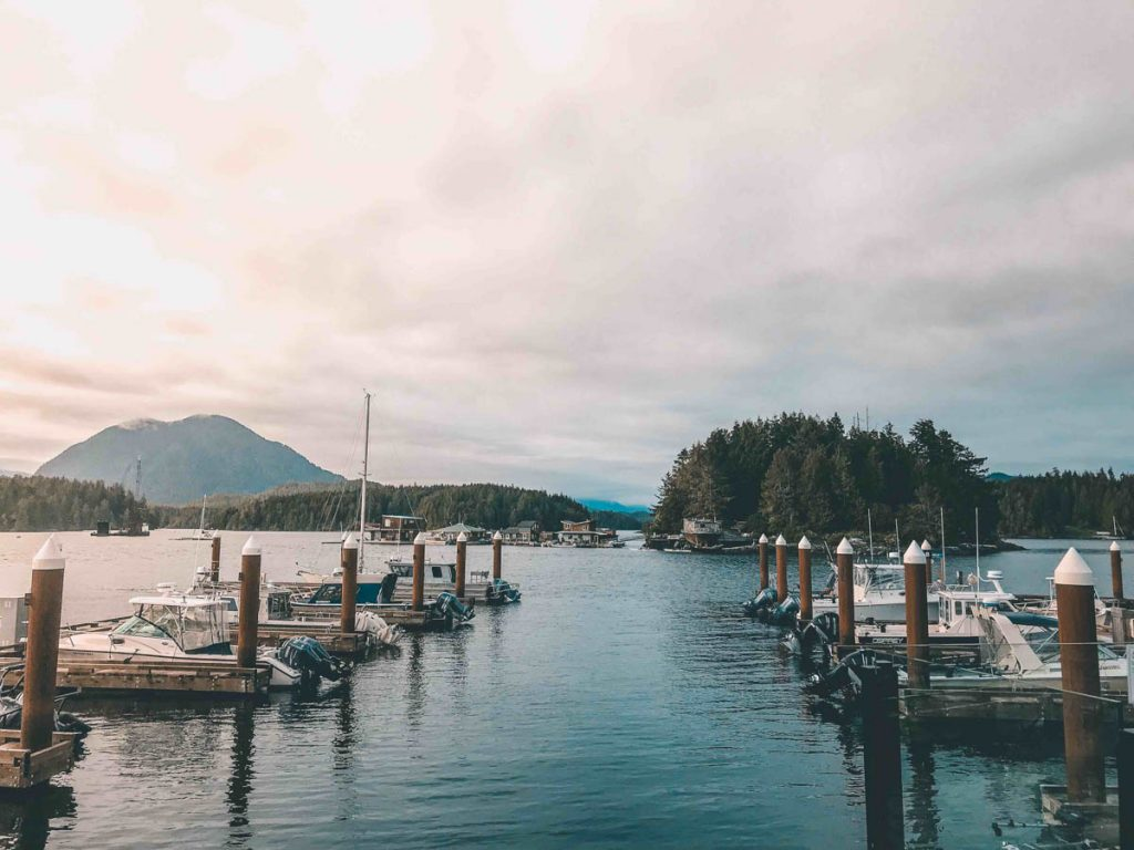 Happy Hour at The Hatch in Tofino Resort + Marina