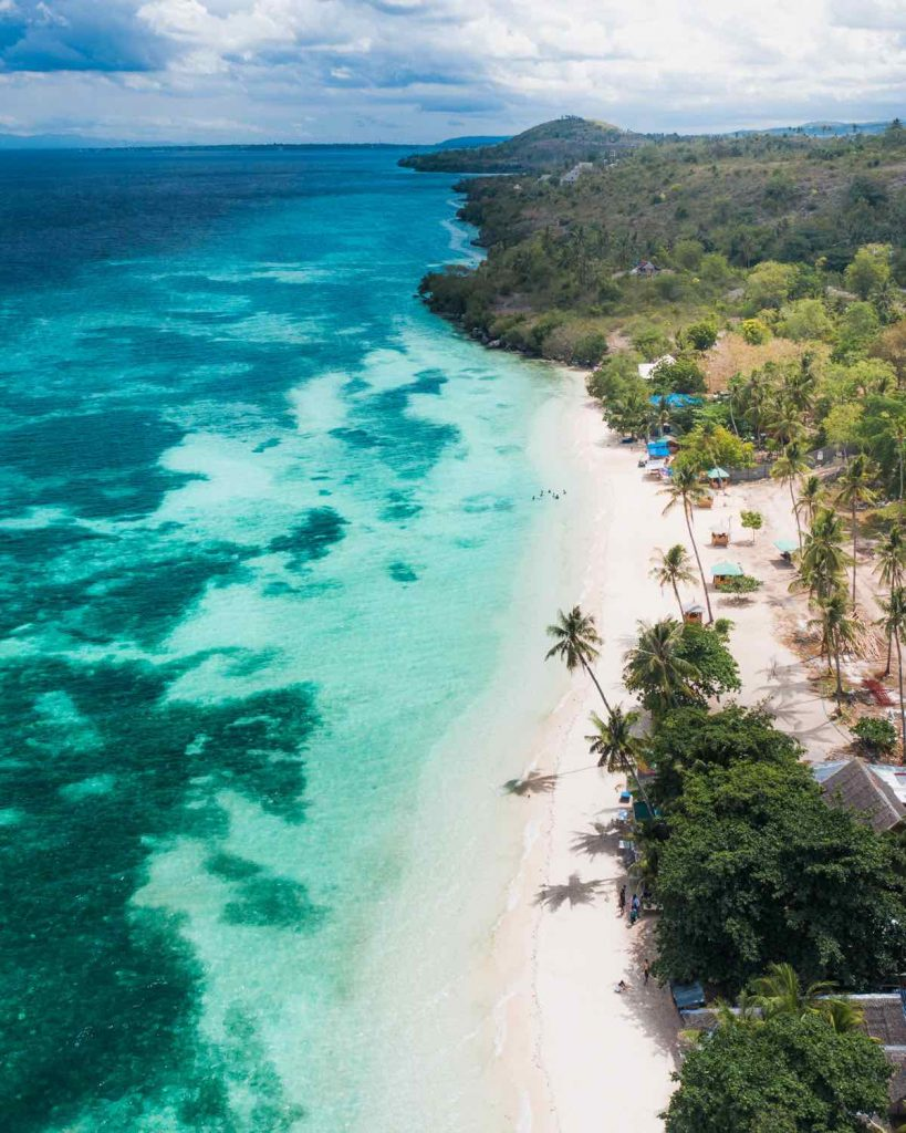 Lambug Beach in South Cebu