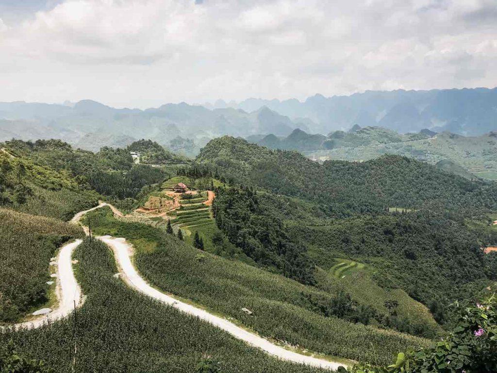 Quan Ba Heaven's Gate lookout on the Ha Giang Loop Vietnam