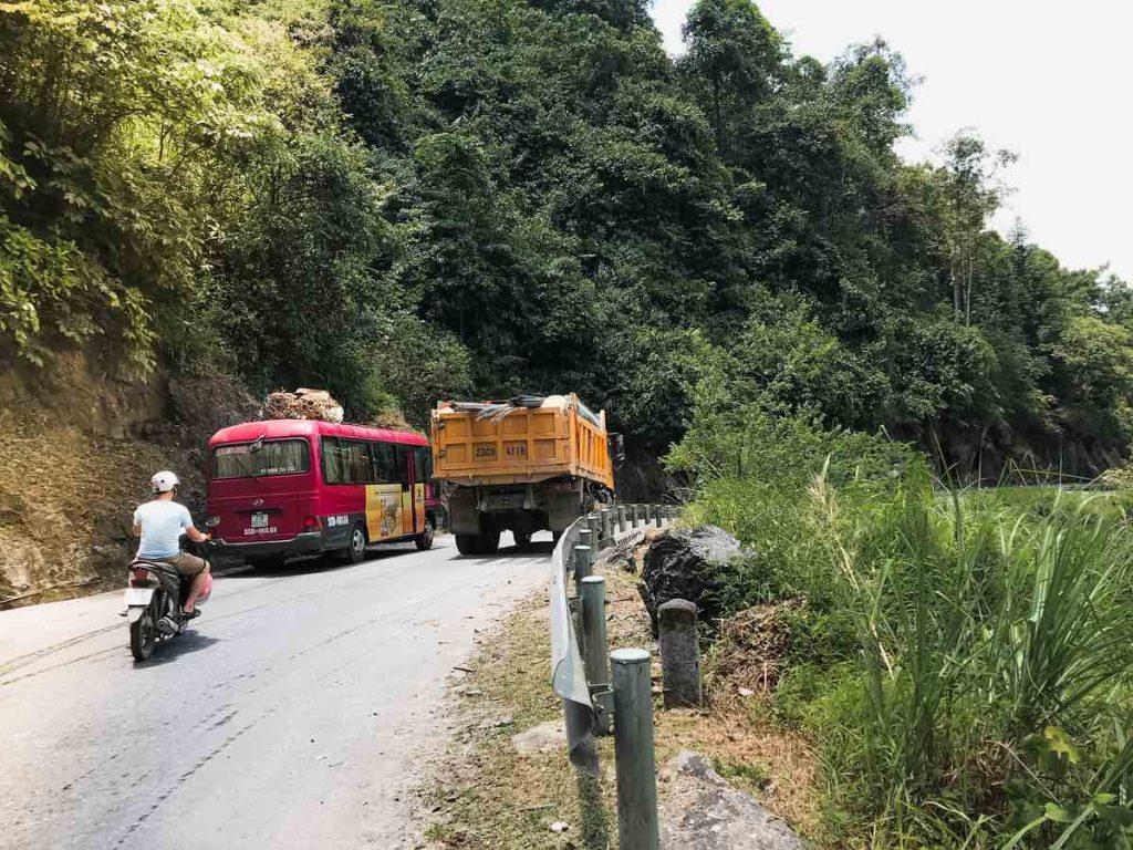 Crazy roads on the Ha Giang motorbike loop