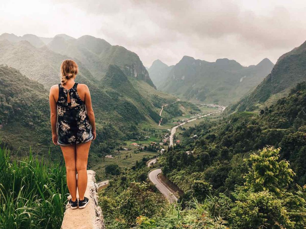 Chin Koanh viewpoint on the Ha Giang loop