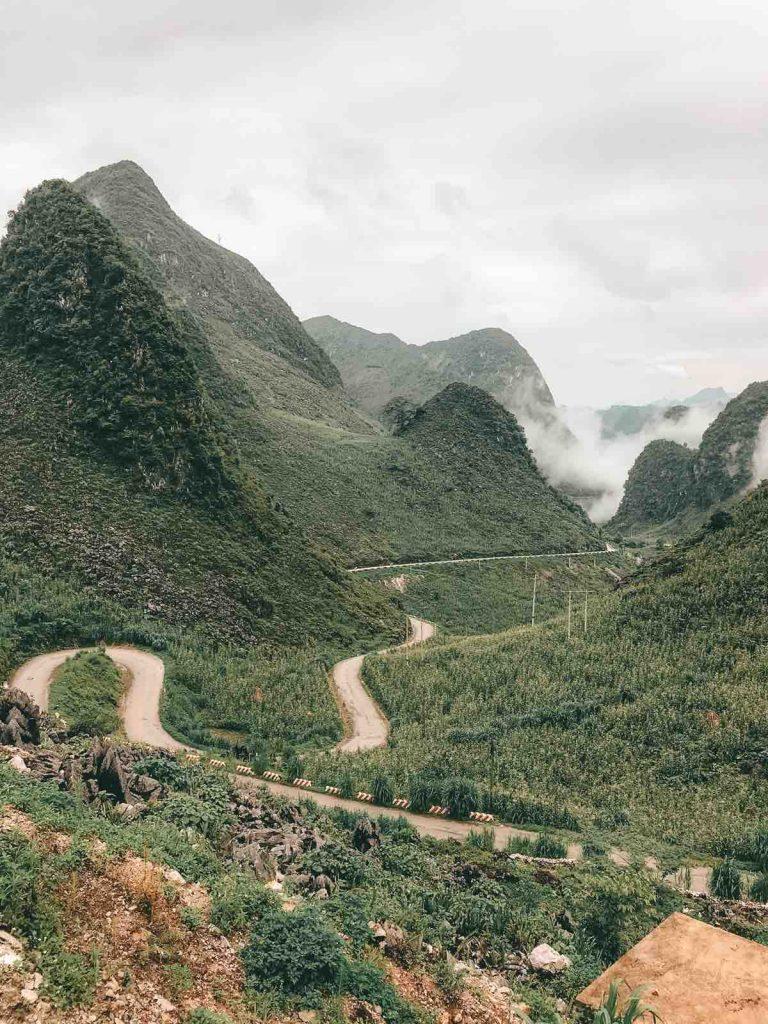 Ha Giang motorbike loop viewpoint