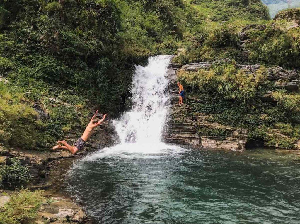 Du Gia Waterfall in Northern Vietnam