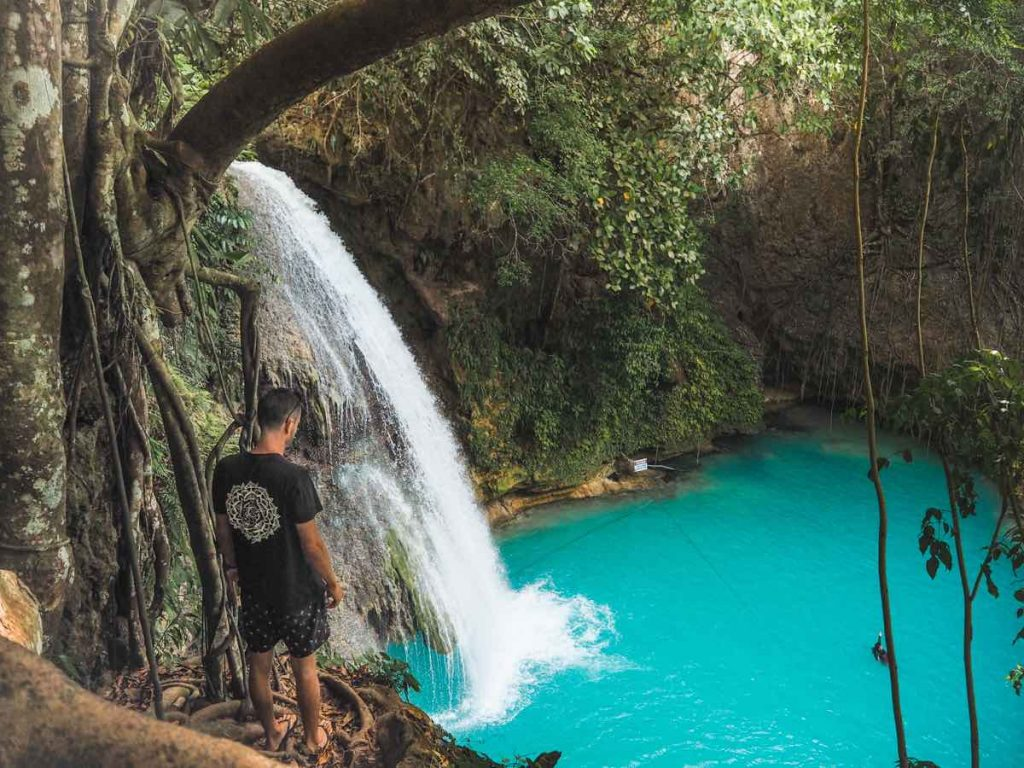 Canyoneering at Kawasan Falls