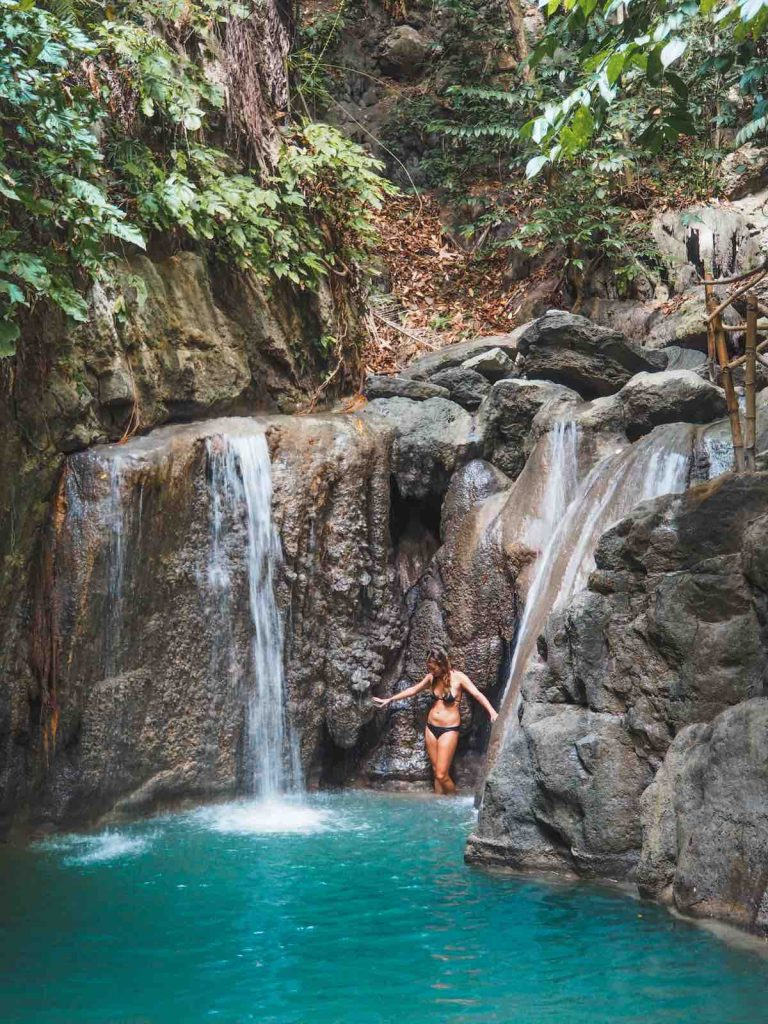 Hidden Falls on a south Cebu itinerary