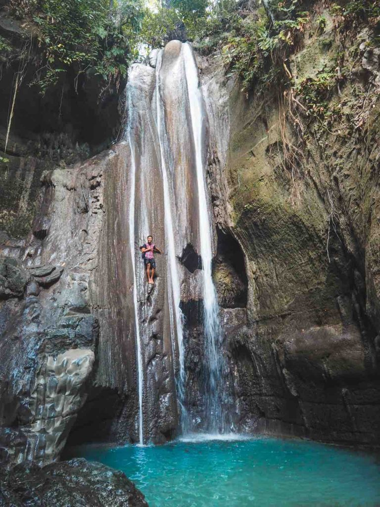 Hidden Falls, Binalayan Falls in South Cebu