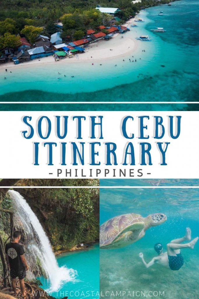 SOUTH CEBU ITINERARY | Adventure Travel Guide | The Coastal