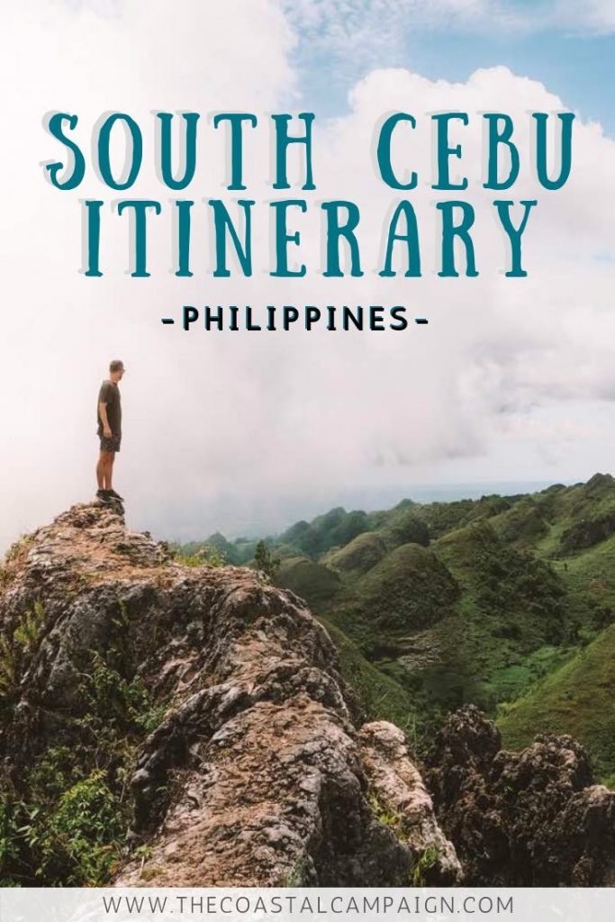 SOUTH CEBU ITINERARY   Cebu, Philippines   Our South Cebu itinerary is a complete guide to the adventure lover's paradise that is Cebu Island. Discover waterfalls, incredible diving and more!