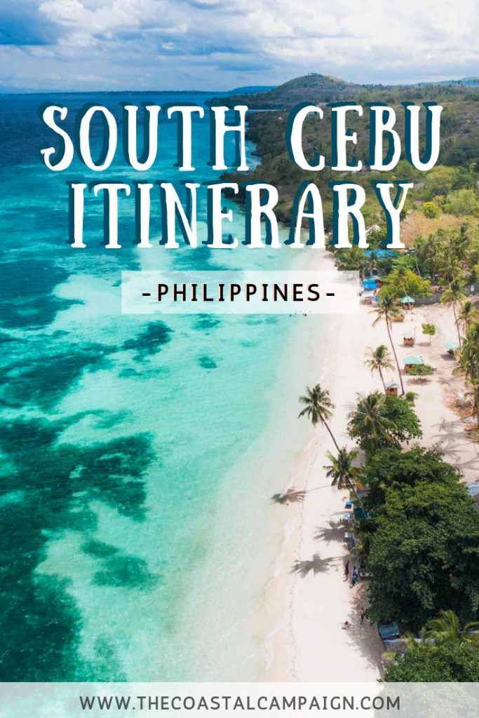 SOUTH CEBU ITINERARY | Cebu, Philippines | Our South Cebu itinerary is a complete guide to the adventure lover's paradise that is Cebu Island. Discover waterfalls, incredible diving and more!