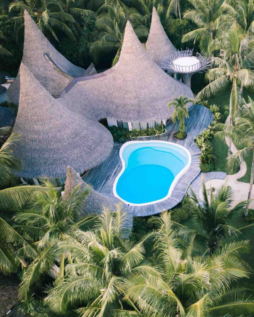 Places to stay in Siargao. The Nay Palad Hideaway