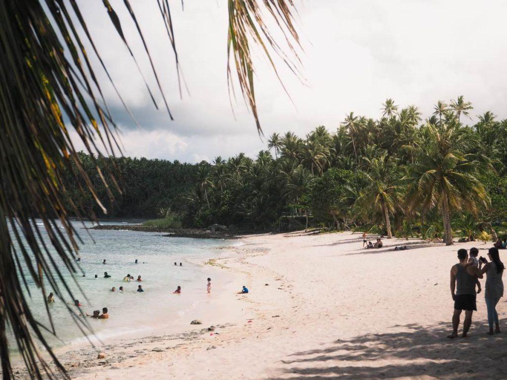 Magpupungko White Beach and Natural Pool