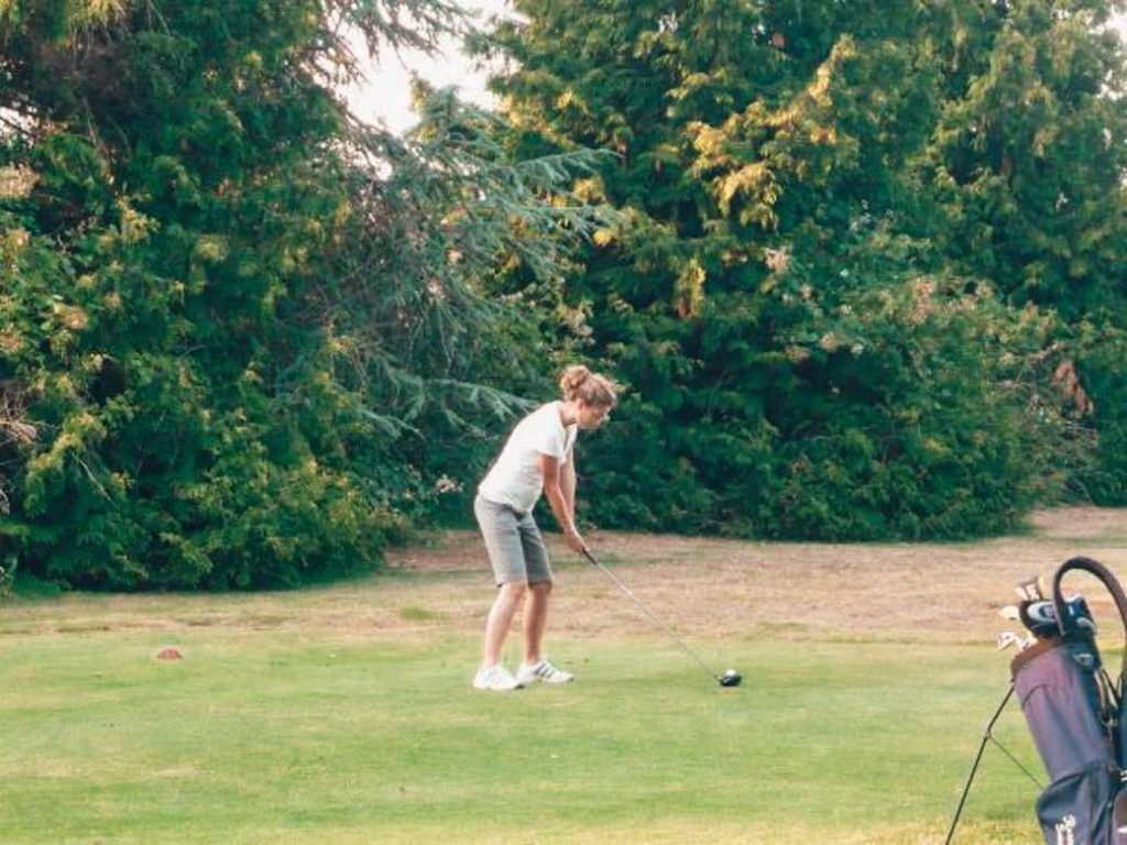 Golfing on Vancouver Island