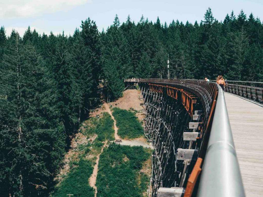 Kinsol Trestle bridge