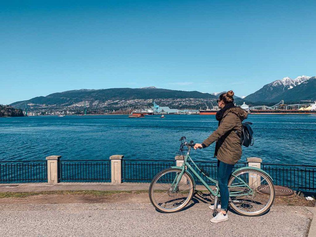 Stanley Park bike rental