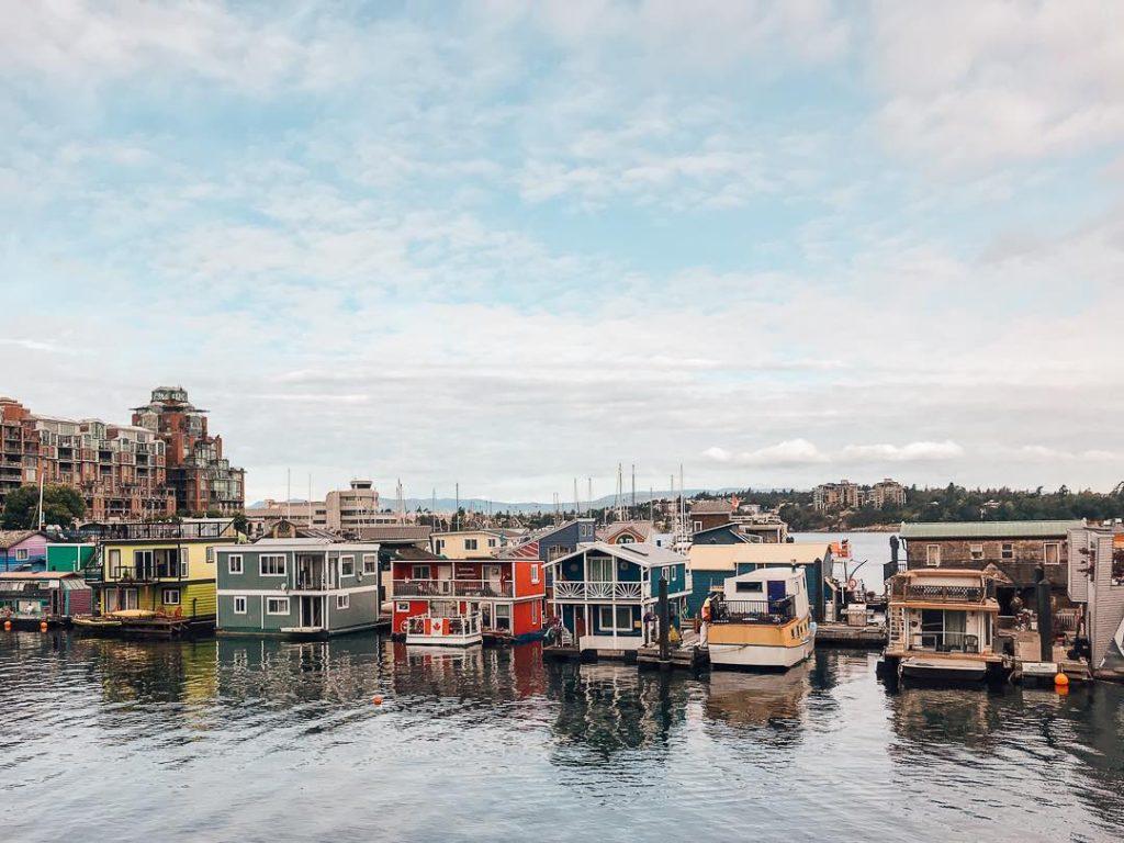 Fisherman's Wharf in Victoria BC