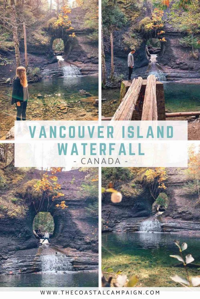 THE HOLE IN THE WALL, PORT ALBERNI | A short walk from the Alberni Highway will take you to the Hole in the Wall in Port Alberni, one of the hidden gems on Vancouver Island.
