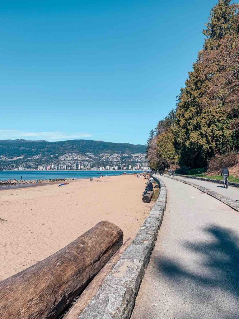 Third Beach in Stanley Park, Vancouver