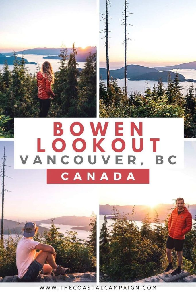 BOWEN LOOKOUT TRAIL | Cypress Mountain | The trail to Bowen lookout at Cypress Mountain offers one of the best views in Vancouver. Read our guide to find out everything you need to know!