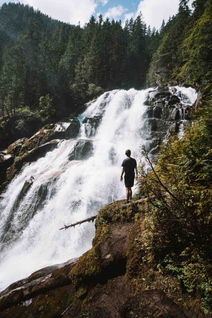 Crooked Falls in Squamish