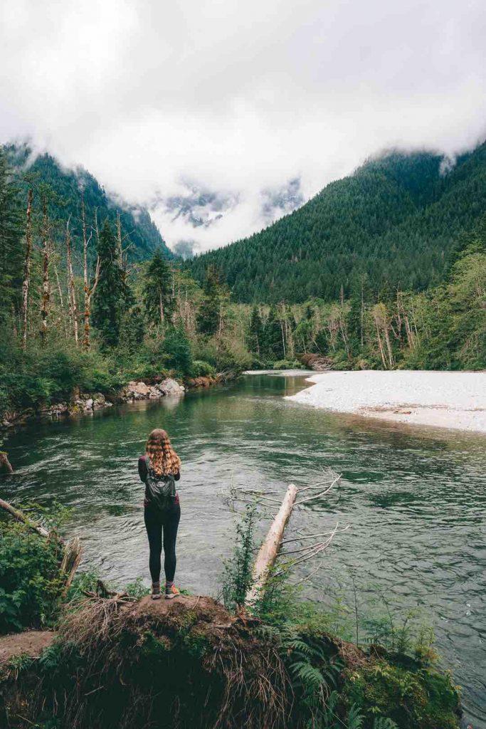 Gold Creek in Golden Ears Provincial Park