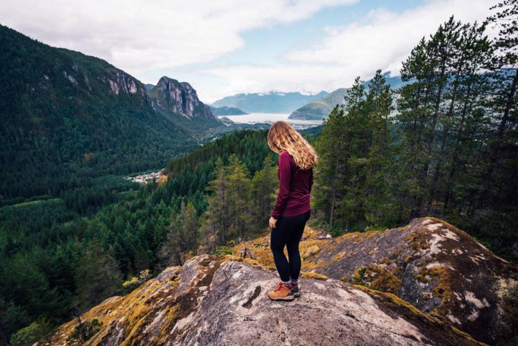 Mount Crumpit in Squamish