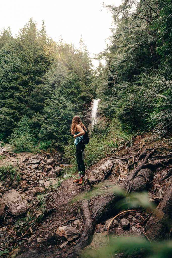 Norvan Falls in North Vancouver