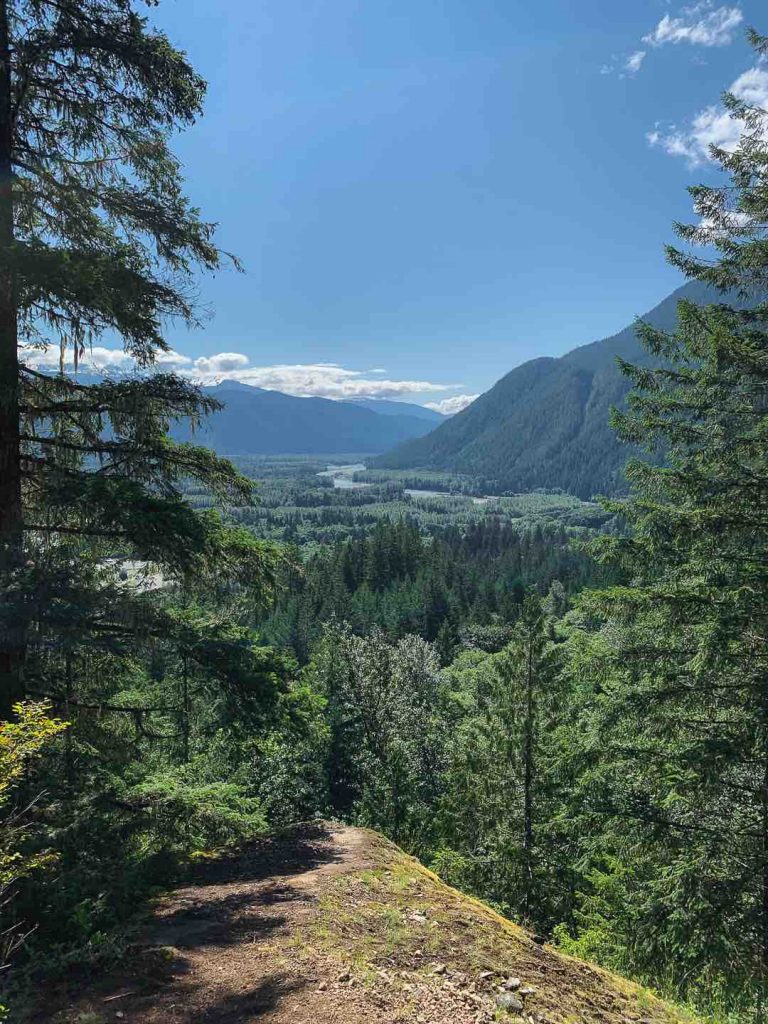 Squamish River and Valley