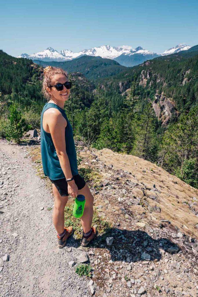 View from Cheakamus Canyon