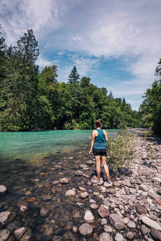 Cheakamus River in Squamish-Lilloet