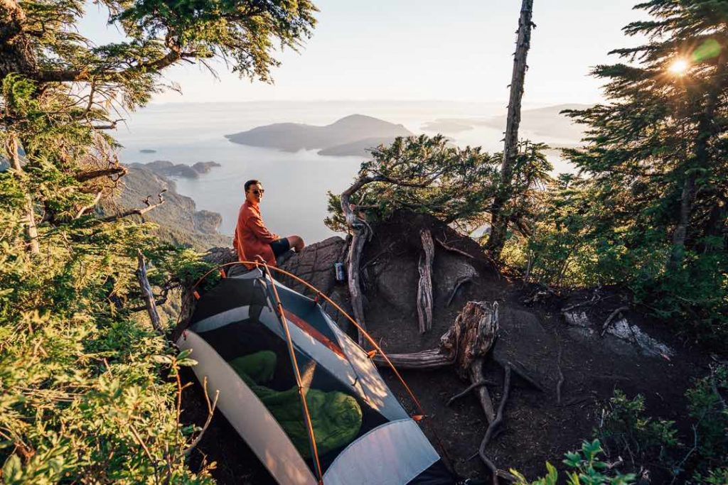 Camping on the Howe Sound Crest Trail