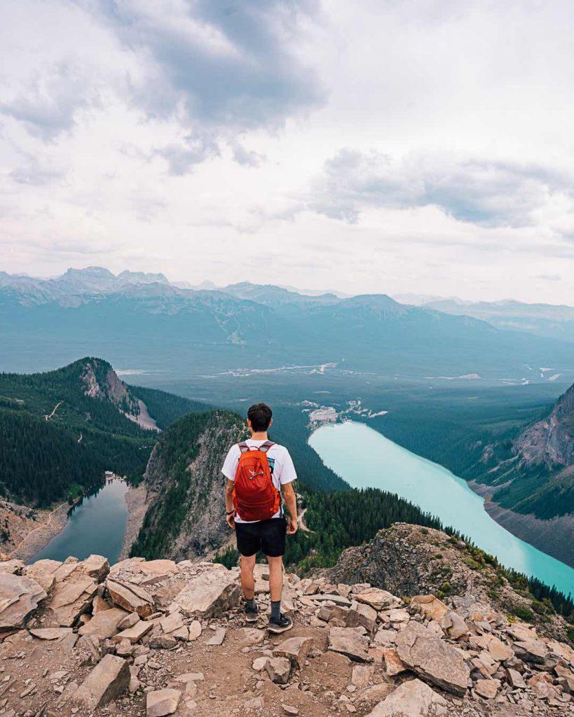 Hike to Devils Thumb, Lake Louise
