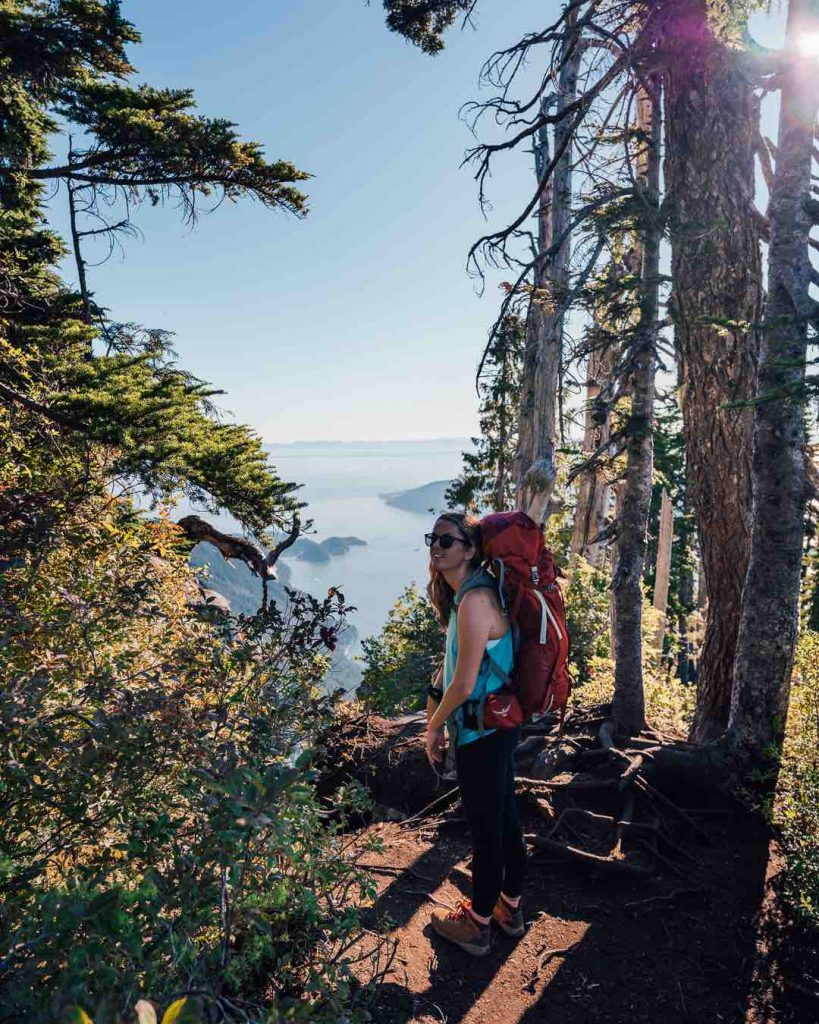 Hiking St Marks Summit trail