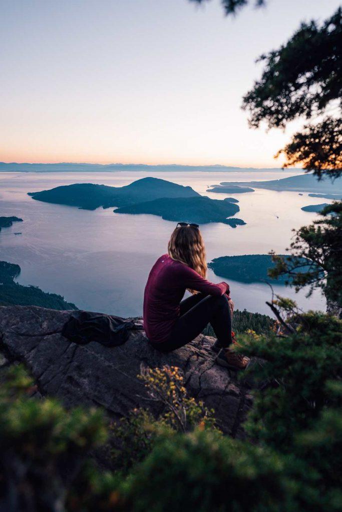 Howe Sound Crest Trail, St Marks Summit trail
