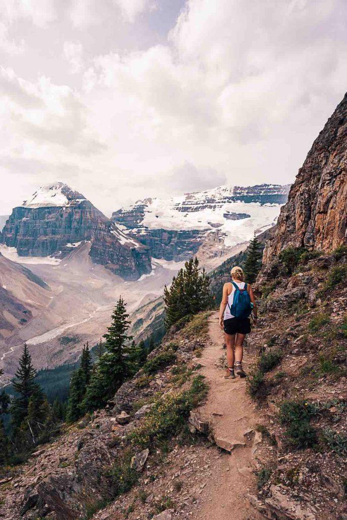 Victoria Glacier in Banff National Park