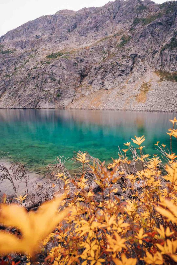 Rohr Lake in the Fall
